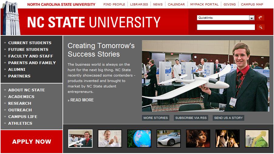 NCSU_Homepage