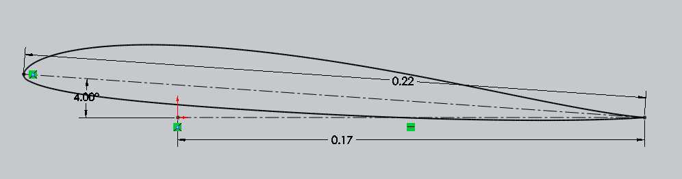how to make an airfoil in solidworks